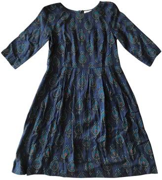 Toast Navy Wool Dresses