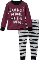 Petit Lem I am Not Afraid of the Dark! Pajama Set (Baby Boys)