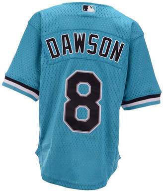 Mitchell & Ness Big Boys Andre Dawson Miami Marlins Mesh V-Neck Player Jersey