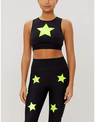 ULTRACOR Level Knockout stretch-jersey crop top