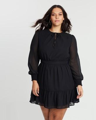 Atmos & Here Melissa High Neck Dress