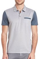 HUGO BOSS Colorblocked Polo Shirt