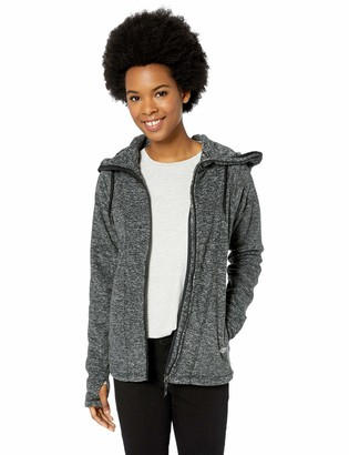 Roxy Junior's Electric Feeling Zip-Up Polar Fleece Sweatshirt
