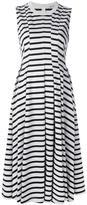 Alexander Wang striped midi dress - women - Cotton - L