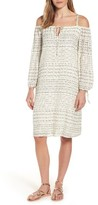 Velvet by Graham & Spencer Women's Off The Shoulder Gauze Shift Dress