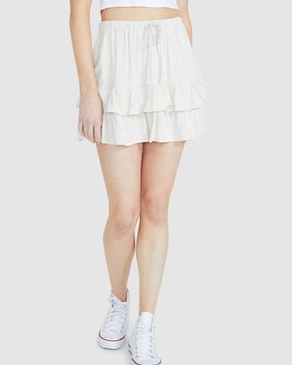 Don't Ask Amanda Lola Ruffle Skirt