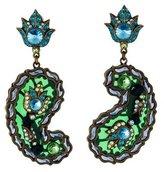 Lanvin Udaipur Crystal Chandelier Earrings