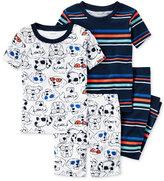 Carter's 4-Pc. Dogs & Stripes Cotton Pajama Set, Baby Boys (0-24 months)