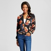 Xhilaration Women's Souvenir Bomber Multicolor Juniors')