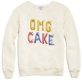 Wildfox Couture Girls' OMG Cake Oversized Sweatshirt - Sizes 7-14