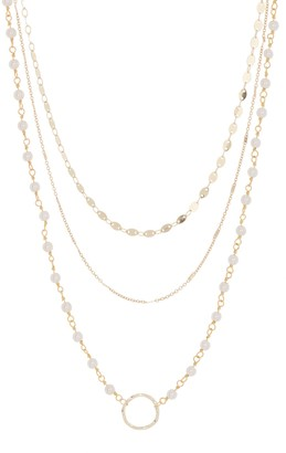 Panacea Layered Mixed Chain Necklace