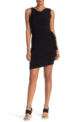 Laundry by Shelli Segal Ruched Jersey Mini Dress
