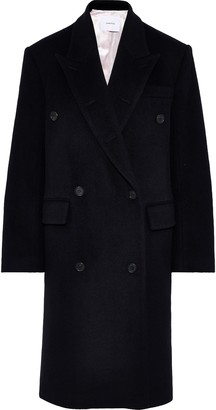 pushBUTTON Double-breasted Wool And Mohair-blend Coat