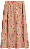 N°21 N21 Pleated Silk Skirt