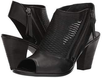 Paul Green Willow (Black Leather) Women's Shoes