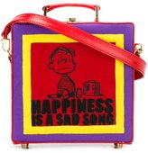 Olympia Le-Tan 'Happiness is a sad song' bag - women - Cotton/Calf Leather - One Size