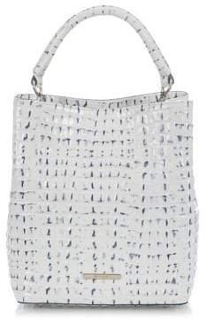 Brahmin La Scala Amelia Leather Bucket Bag
