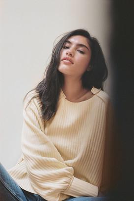 BDG Grayson Ribbed Raglan Sweater