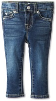 7 For All Mankind Kids - Skinny in Nouveau New York Dark Girl's Jeans