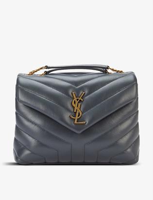 Saint Laurent Loulou small monogram leather shoulder bag