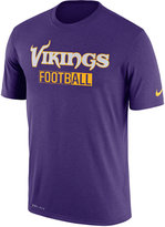 Nike Men's Minnesota Vikings All FootbALL Legend T-Shirt