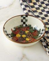 Mackenzie Childs MacKenzie-Childs Evergreen Enamel Relish Dish