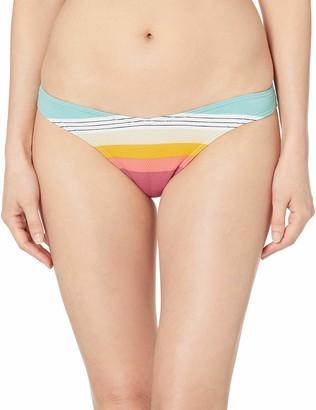 Rip Curl Junior's Beach Street High Leg Bikini Bottom Swim Suit