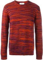 YMC blur stripe design jumper