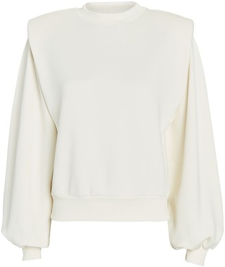LES COYOTES DE PARIS Alison Padded Shoulder Sweatshirt