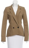 Proenza Schouler Structured Notch-Lapel Blazer