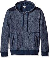Calvin Klein Jeans Men's Cross Dye French Terry Hoodie