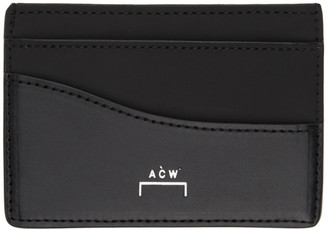 A-Cold-Wall* Black Stirling Card Holder