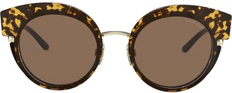 Giorgio Armani Oversized Cat-Eye Sunglasses