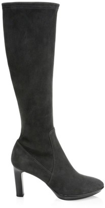 Aquatalia Rhumba Knee-High Suede Boots