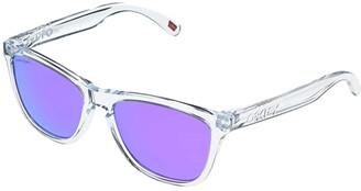 Oakley Frogskins (Polarized Clear/Prizm Violet) Sport Sunglasses