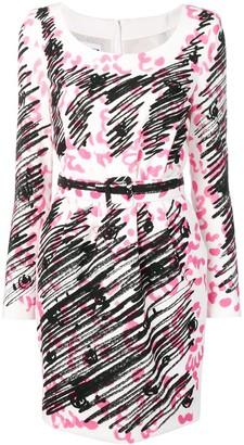 Moschino Tromp L'oeil Mini Dress
