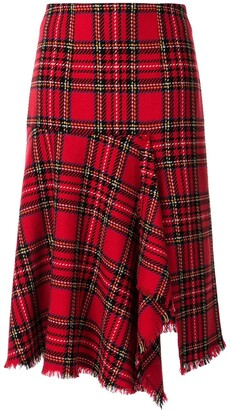 macgraw Century checked skirt