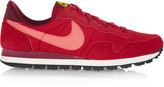 Nike Pegasus 83 suede, leather and mesh sneakers