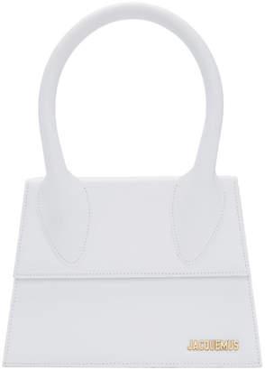 Jacquemus White Le Grand Chiquito Top Handle Bag