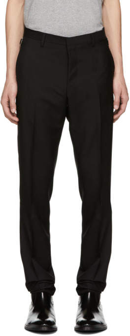 Tiger of Sweden Black Wool Tretton Trousers