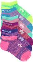 Under Armour Girls Essential Youth No Show Socks - 6 Pack