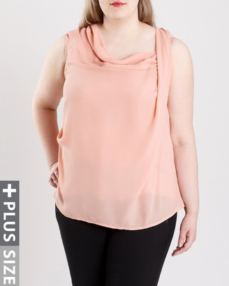 Junarose Women's Plus Size Ava Sleeveless Top
