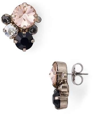 Sorrelli Round Crystal Earrings