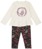 Juicy Couture Baby Knit Folk Bird Legging Set