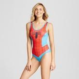 Spiderman Women's Marvel License Bodysuit - Blue