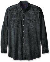 Wrangler Men's Tall Size 20x Long Sleeve Snap Woven Shirt