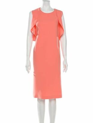 Lafayette 148 2018 Midi Length Dress w/ Tags Orange