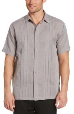 Cubavera Men's Crossdye Multi-Tuck Shirt