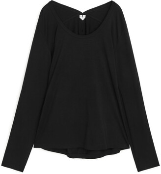 Arket Fitted Long-Sleeve Top