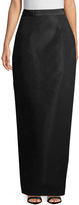 Monique Lhuillier Women's Column Silk Skirt